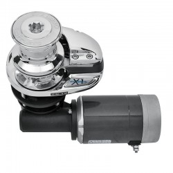 X1 - Con Tambor - 800W/12V - 8mm ISO 4565 / Din 766 - Bronce Cromado